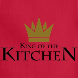 King Of The Kitchen T-Shirts - Adjustable Apron