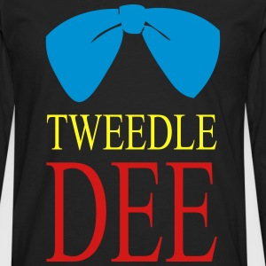 tweedle du T-Shirts - Men's Premium Long Sleeve T-Shirt
