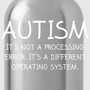 Autism Operating System - Water Bottle