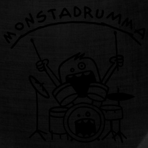 Monster Drummer Kids' Shirts - Bandana