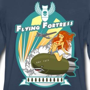Flying Fortress - Men's Premium Long Sleeve T-Shirt