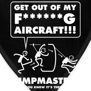 Jumpmasters - Letting You Know It's Their Aircraft - Bandana
