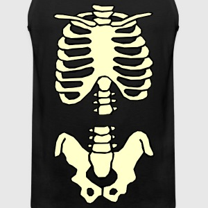 Halloween Skeleton T-Shirt - Men's Premium Tank