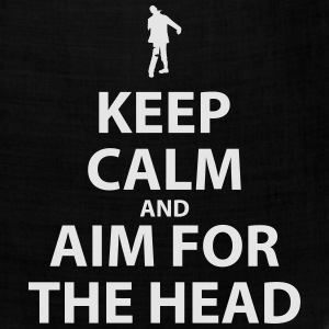 Keep Calm and Aim For The Head - Bandana