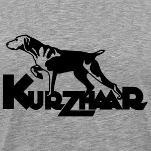 kurzhaar_one_color T-Shirts - Men's Premium T-Shirt