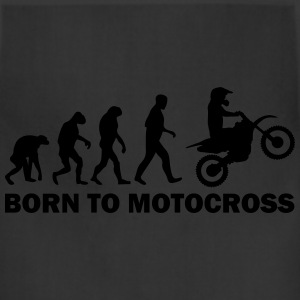 born to motocross T-Shirts - Adjustable Apron