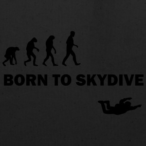 born to skydive T-Shirts - Eco-Friendly Cotton Tote