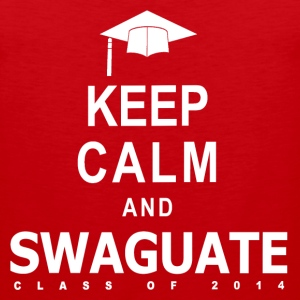 Keep Calm and SWAGuate 2014 T-Shirts - Men's Premium Tank