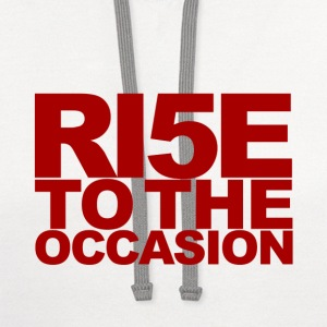 Louisville Cardinals Rise to the Occasion - Contrast Hoodie
