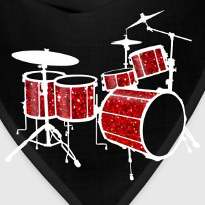 Red Drum Set - Bandana