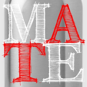 mate - Me T-Shirts - Water Bottle