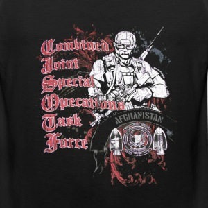 Afghanistan Special Operations T-Shirts - Men's Premium Tank