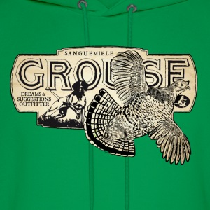 flying_grouse T-Shirts - Men's Hoodie