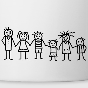 Great family  - Patchwork Family T-Shirts - Coffee/Tea Mug