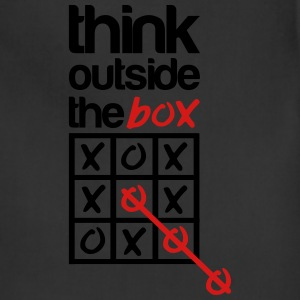 think outside the box T-Shirts - Adjustable Apron