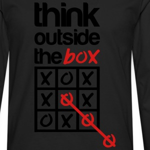 think outside the box T-Shirts - Men's Premium Long Sleeve T-Shirt