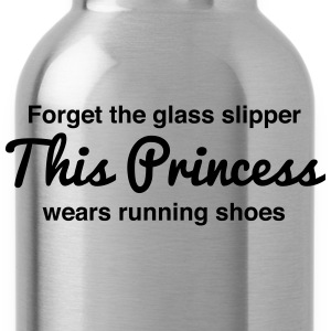 This princess wears running shoes Women's T-Shirts - Water Bottle