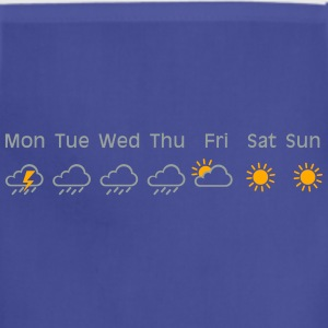 nice weekend weather Shirt - Adjustable Apron