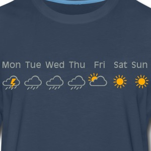 nice weekend weather Shirt - Men's Premium Long Sleeve T-Shirt