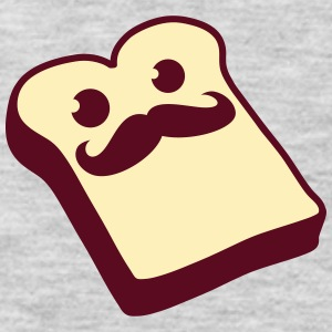 Sir Mustache Toast Women's T-Shirts - Men's Premium Long Sleeve T-Shirt