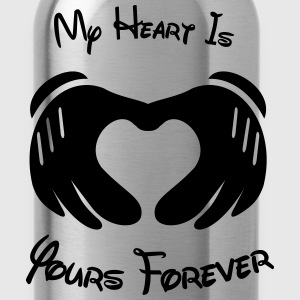 My heart is yours forever - Water Bottle