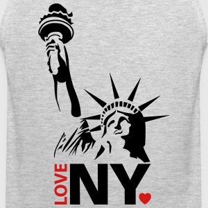 I love New York NY - Men's Premium Tank