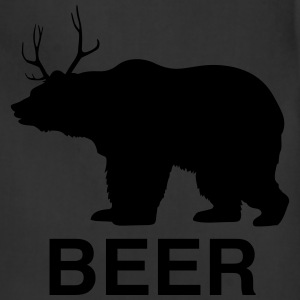 Bear Deer Beer T-Shirts - Adjustable Apron