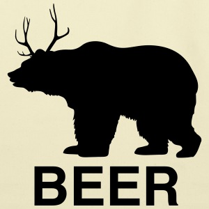 Bear Deer Beer T-Shirts - Eco-Friendly Cotton Tote
