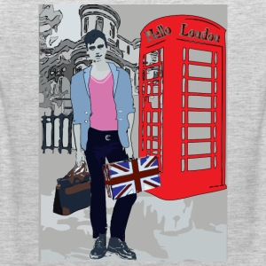Sexy London Guy Women's Fitted Classic T-shirt - Men's Premium Tank