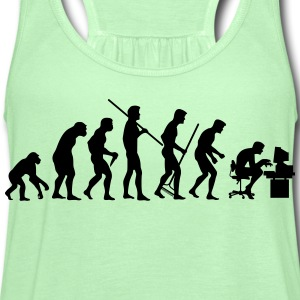 Evolution of society - Women's Flowy Tank Top by Bella