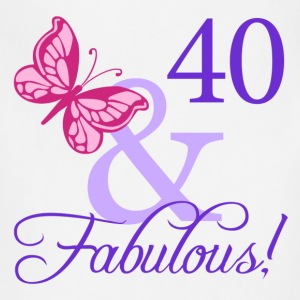 Fabulous 40th Birthday - Adjustable Apron