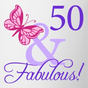 Fabulous 50th Birthday - Coffee/Tea Mug