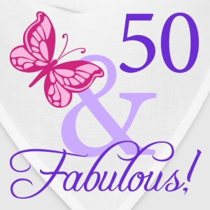 Fabulous 50th Birthday - Bandana
