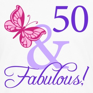 Fabulous 50th Birthday - Men's Premium Long Sleeve T-Shirt