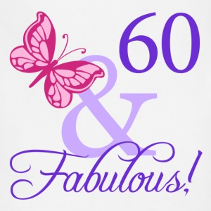 Fabulous 60th Birthday - Adjustable Apron