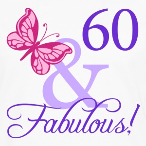 Fabulous 60th Birthday - Men's Premium Long Sleeve T-Shirt
