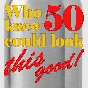 Funny 50th Birthday Gift Idea - Water Bottle