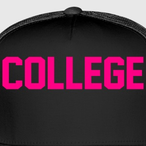 COLLEGE - Trucker Cap