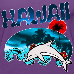 DOLPHIN HAWAII T-Shirts - Women's Premium Tank Top