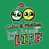 Cuke & Pickles, Best Friends for Life! Women's T-Shirts - Women's Premium T-Shirt