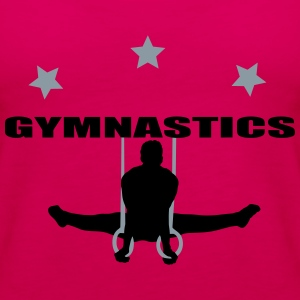 gymnastics men T-Shirts - Women's Premium Tank Top