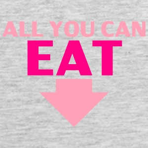 All You Can Eat Women's T-Shirts - Men's Premium Tank