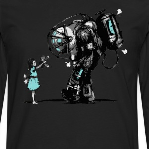 Bioshock Big Daddy T-Shirts - Men's Premium Long Sleeve T-Shirt