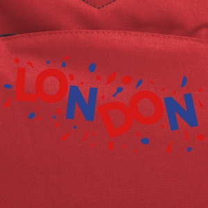 LONDON text logo Women's Fitted Classic T-shirt - Computer Backpack