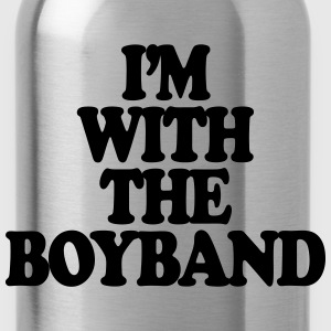 I'm With The Boy Band T-Shirts - Water Bottle