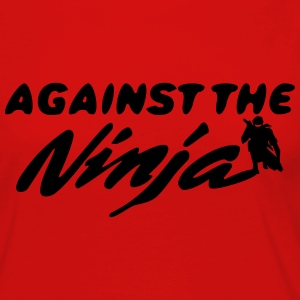 Against the Ninja - Women's Premium Long Sleeve T-Shirt