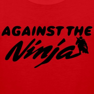 Against the Ninja - Men's Premium Tank