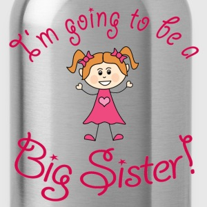 I'm going to be a Big Sister! - Water Bottle