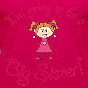 I'm going to be a Big Sister! - Women's Premium Tank Top