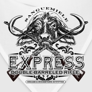 buffalo_express_rifle T-Shirts - Bandana